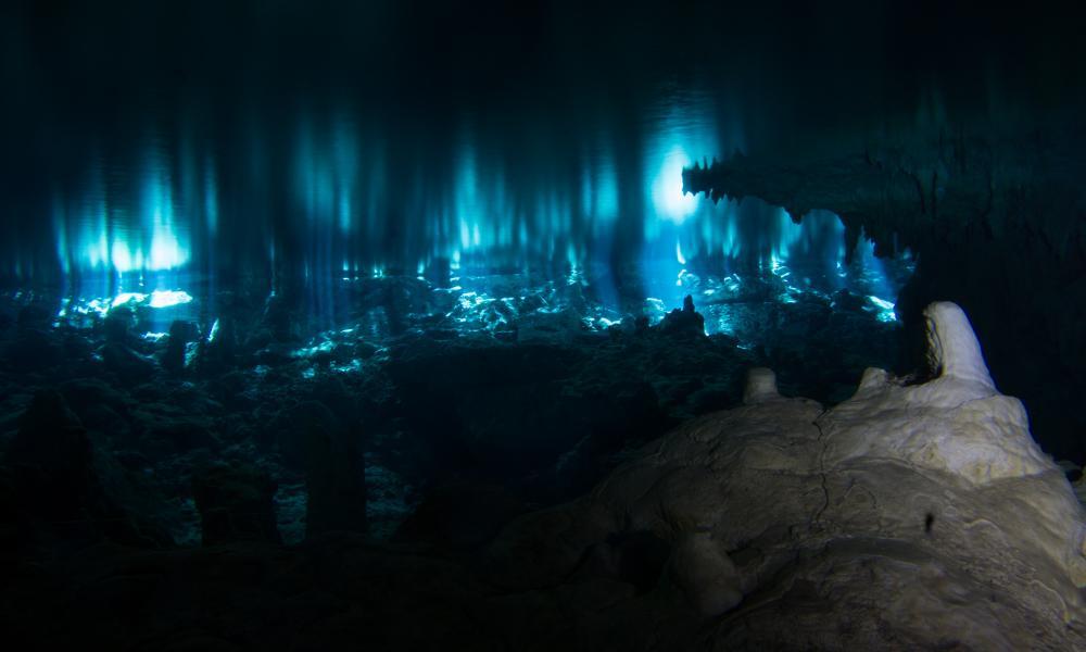 Tulum Cavern Diving Distance