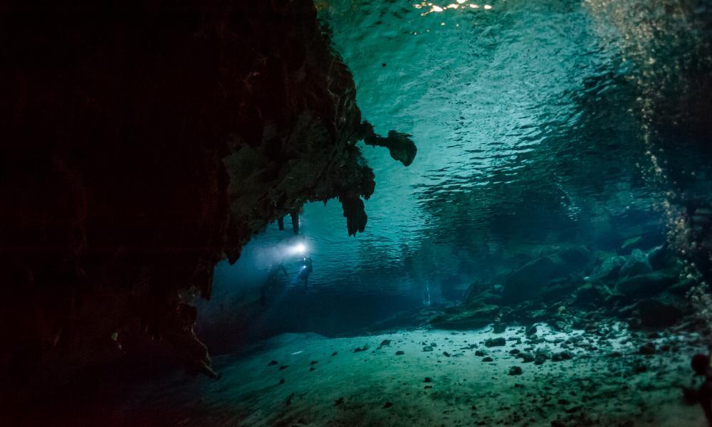 Tulum Cavern Diving