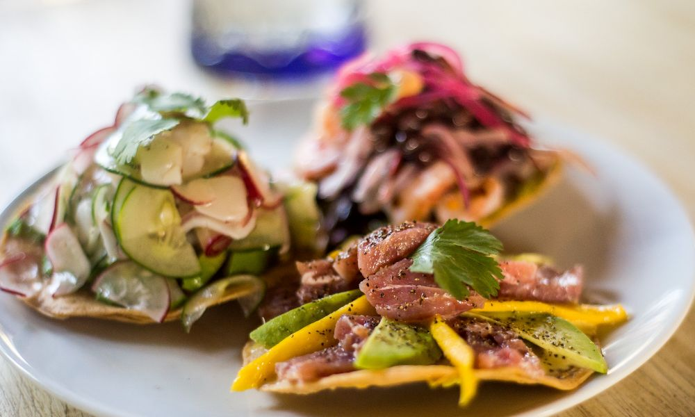 Tulum Food Tostadas