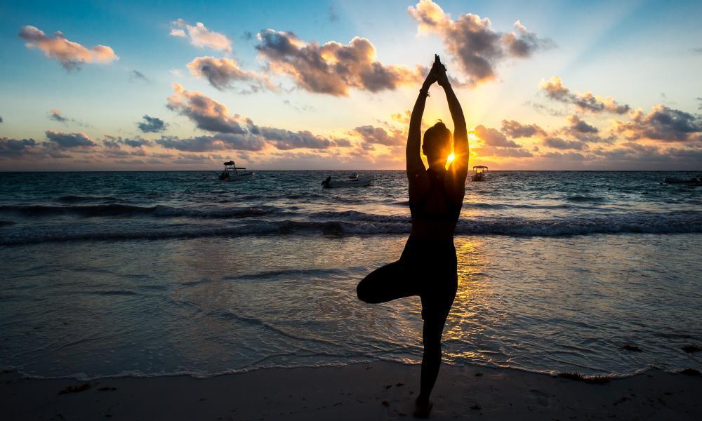 Tulum Yoga Sunset