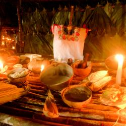 Mayan Traditions Day Of The Death